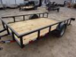 DOWN 2 EARTH TRAILERS 76X12UT UTILITY TRAILER WITH DOVE TAIL STOCK# DTE7612G29-9000
