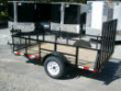 6 X 10 HIGH SIDES ATV LAWNMOWER UTILITY TRAILER