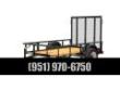2020 BIG TEX TRAILERS 30SA-08 UTILITY TRAILER STOCK# 55376