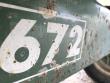 1995 EZ TRAIL 672 HEADER TRAILER