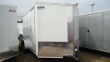 "2020 PACE AMERICAN 7X14 JVSE TE2 6""X RAMP SVNT WHITE ENCLOSED CARGO TRAILER"