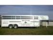 2004 SUNDOWNER LIVESTOCK TRAILER 24FT 8 HORSE
