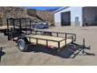 2020 QUALITY 6X12 GENERAL DUTY UTILITY TRAILER W/ LED LIGHTS