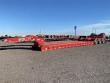 GLOBE 55 TON EXTENDABLE W/ HYDRAULIC FLIP AXLE LOWBOY TRAILER