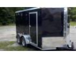 7X12 TA ENCLOSED CARGO TRAILER (BRAKES!)