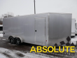 7X18 E-Z HAULER SNOWMOBILE TRAILER - 7' INTERIOR HEIGHT