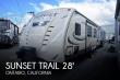 2017 CROSSROADS RV SUNSET TRAIL GRAND RESERVE SS28