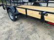 DOWN 2 EARTH TRAILERS 76X12UT UTILITY TRAILER FLAT DECK STOCK# DTE7612FF29-74122