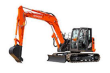 """HITACHI COMPACT EXCAVATOR LOWER 1/2"""" POLYCARBONATE WINDSHIELD REPLACEMENT"""