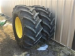 GOODYEAR OPTITRACT DT 824 600/70R28 TIRES ON RIMS
