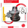 2882111RX NEW AFTERMARKET CUMMINS ISX15 HE400VG/HE451VE TURBO DIESEL – + – OEM ACTUATOR INCLUDED