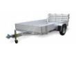 6810H ALUMA ATV LAWN CARGO UTILIRY TRAILER SOLID SIDES