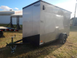 2020 BRAVO 6' X 12' SCOUT ENCLOSED W/ REAR RAMP DOO