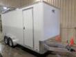 2020 ATC 7X16 RAVEN TANDEM CARGO TRAILER W/ REAR BARN DOORS