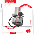 REBUILT VOLVO D16D/EPA04 TURBO #85142150 HE500VG/HE551VE – + CORE DEPOSIT – NEW CALIBRATED ACTUATOR INCLUDED