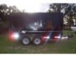 14 FT DUMP TRAILER, WITH 4FT REMOVABLE WALL PANELS