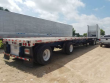 1999 UTILITY 48X102 FLATBED TRAILER - COMBO, ALUMINUM FLOOR, SPREAD AXLE, PIPE STAKES, DUNNAGE RACK