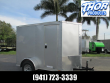 5X8V CARGO TRAILER SIDE DOOR *RAMP REAR DOOR 6' INTERIOR HEIGHT!!