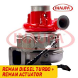 CUMMINS ISX12 #2882110NX HE400VG/HE431VE REBUILT TURBO DIESEL – + CORE DEPOSIT – REMANUFACTURED CALIBRATED ACTUATOR INCLUDED