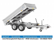 SARIS - PKC20 • 2TO. • ALU-KIPPER • NEU • 2J.GARANTIE - TIPPER- THREE-WAY