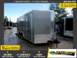 *110424* 8.5X16 ENCLOSED CARGO TRAILER |LRT TANDEM AXLE TRAILERS 8.5 X 16