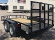 2020 TOP HAT TRAILERS 77X12 LDX T/A UTILITY TRAILER
