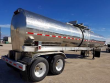 1990 BRENNER 1990 BRENNER HERESITE LINED 6500GAL CHEMICAL / ACID TANK TRAILER