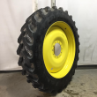 380/90R46 FIRESTONE RADIAL ALL TRACTION RC R-1W ON 10-HOLE WHEEL