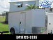 5 X 10 SA ENCLOSED TRAILER W/SIDE AND REAR RAMP DOORS RADIAL TIRES