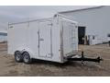 2020 CAR MATE 7X16 HD CUSTOM CONTRACTOR TRAILER W/ BARN DOORS (9990# GVW)