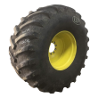 900/60R32 FIRESTONE RADIAL ALL TRACTION 23 R-1 ON 10-HOLE WHEEL