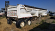 1998 BEALL HB3324 END DUMP TRAILER