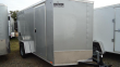 2020 PACE AMERICAN 6X12 OBDLX 24VS SVNT SILVER ENCLOSED CARGO TRAILER