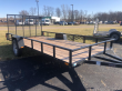 2019 FOREST RIVER 6.5 X 14 FLAT BED TRAILER