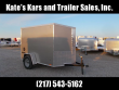 *NEW* PACE AMERICAN 5X8' SCREWLESS SIDES ENCLOSED CARGO TRAILER