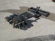 "LOT 0462 -- 72"" HYDRAULIC SPIRAL DRILL TO SUIT"