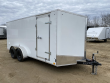 2021 DISCOVERY TRAILERS 7X16 ENCLOSED CARGO TRAILER W/ REAR RAMP DOOR
