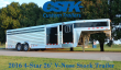 2016 4 STAR TRAILERS 26' STOCK VNOSE W/ROLLING GATE