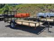 2020 QUALITY 6X14 GENERAL DUTY UTILITY TRAILER