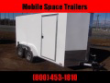 2021 NATIONCRAFT TRAILERS 7X12 WHITE ENCLOSED CARGO TRAILER
