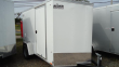 2020 PACE AMERICAN 6X10 OBDLX 24VS RAMP SVNT WHITE ENCLOSED CARGO TRAILER