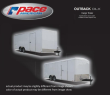2018 PACE AMERICAN 5 X 8 OUTBACK DLX CARGO TRAILER