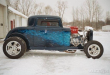 1932 FORD 3-WINDOW CHOPPED COUPE HI-BOY
