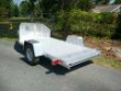 TK1 ALUMA SINGLE MOTOCYCLE TRIKE TRAILER STONE GUARD