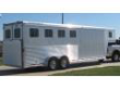 EXTRA TALL 4-HORSE FEATHERLITE W/ RAMP & LARGE DRESSING