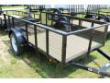 2020 OTHER CARRY-ON 5X10 LANDSCAPING TRAILER WITH METAL MESH SIDES UTILITY TRAILER STOCK# 40766