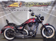 2014 VICTORY MOTORCYCLES® HIGH-BALL SUEDE BLACK WITH GRAPHICS