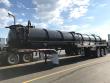 2020 DRAGON 165 BBL STEEL WATER TANKER, TRI AXLE AIR RIDE W/RE VACUUM TRAILER