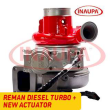 CUMMINS ISM #4309124 REBUILT TURBO DIESEL HE400VG/HE451VE – + CORE DEPOSIT – NEW CALIBRATED ACTUATOR INCLUDED