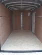 2021 H AND H 6X10 ENCLOSED CARGO TRAILER V-NOSE RAMP
